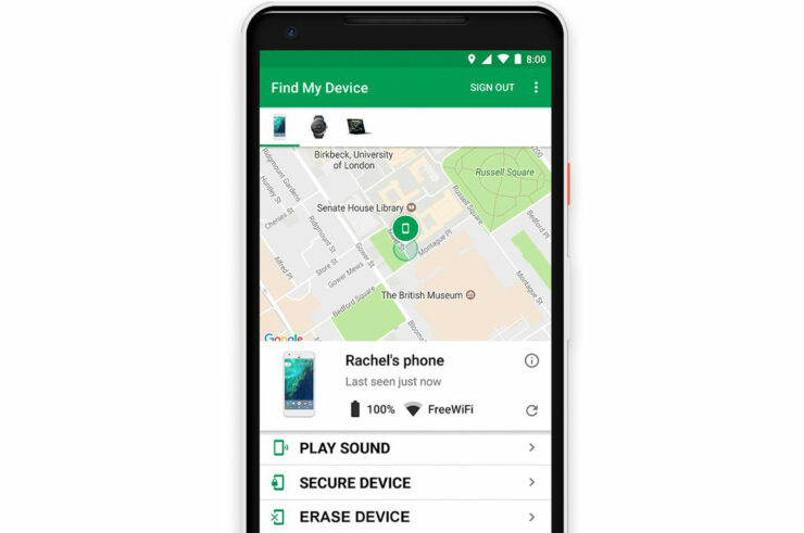 Google Reportedly Working on an Android Version of 'Find My'