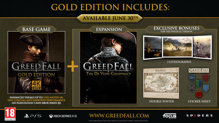 Free Next-Gen GreedFall PS5 and Xbox Series X S Update