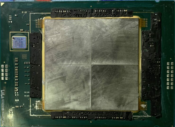 Intel's Next-Gen 10nm ESF Based Sapphire Rapids Xeon CPU Die Shots Leak Out, Up To 56 Active 'Golden Cove' Cores