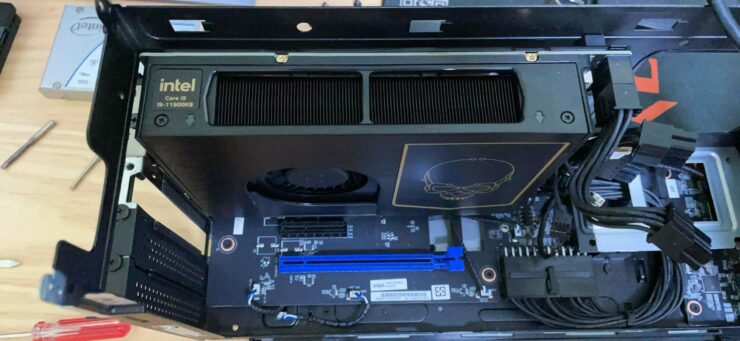 Intel Core i9-11900KB Tiger Lake CPU Powers NUC 11 Extreme 'Beast Canyon' Compute Element, 8 Cores Up To 5.30 GHz