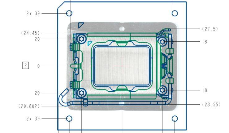 Intel LGA 1700 & LGA 1800 Socket Design Leaks Out, Designed For Alder Lake & Next-Gen CPUs