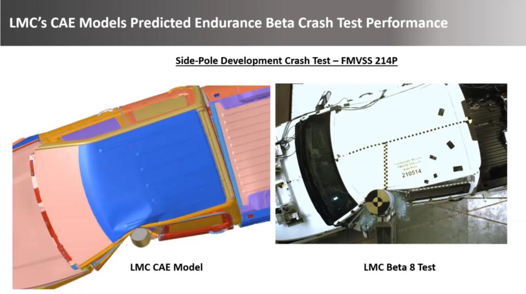 Lordstown Endurance Crash test