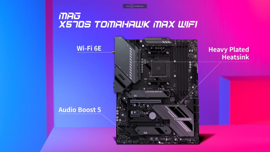 MSI MAG X570S Tomahawk MAX WiFi Motherboard