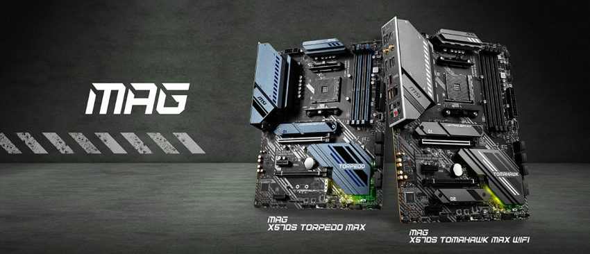 MSI X570S Torpedo MAX and Tomahawk MAX Wi-Fi Motherboards