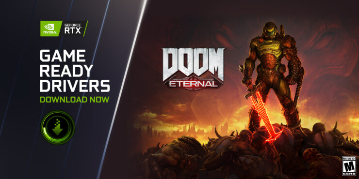 DOOM Eternal Gets RTX Raytracing & DLSS Support With NVIDIA GeForce Game Ready 471.11 WHQL Drivers