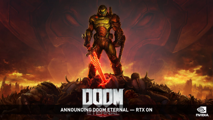NVIDIA Adds Raytracing And DLSS 2.0 Support For Doom Eternal With Up To 50% Performance Increase