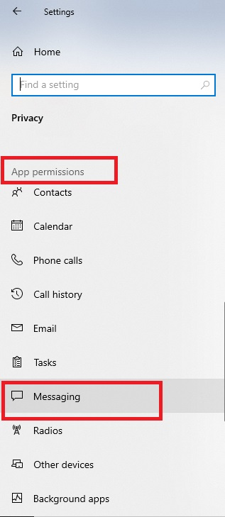 Prevent Apps From Accessing Texts