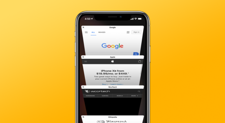 Clear History and Browsing in Safari on iPhone and iPad