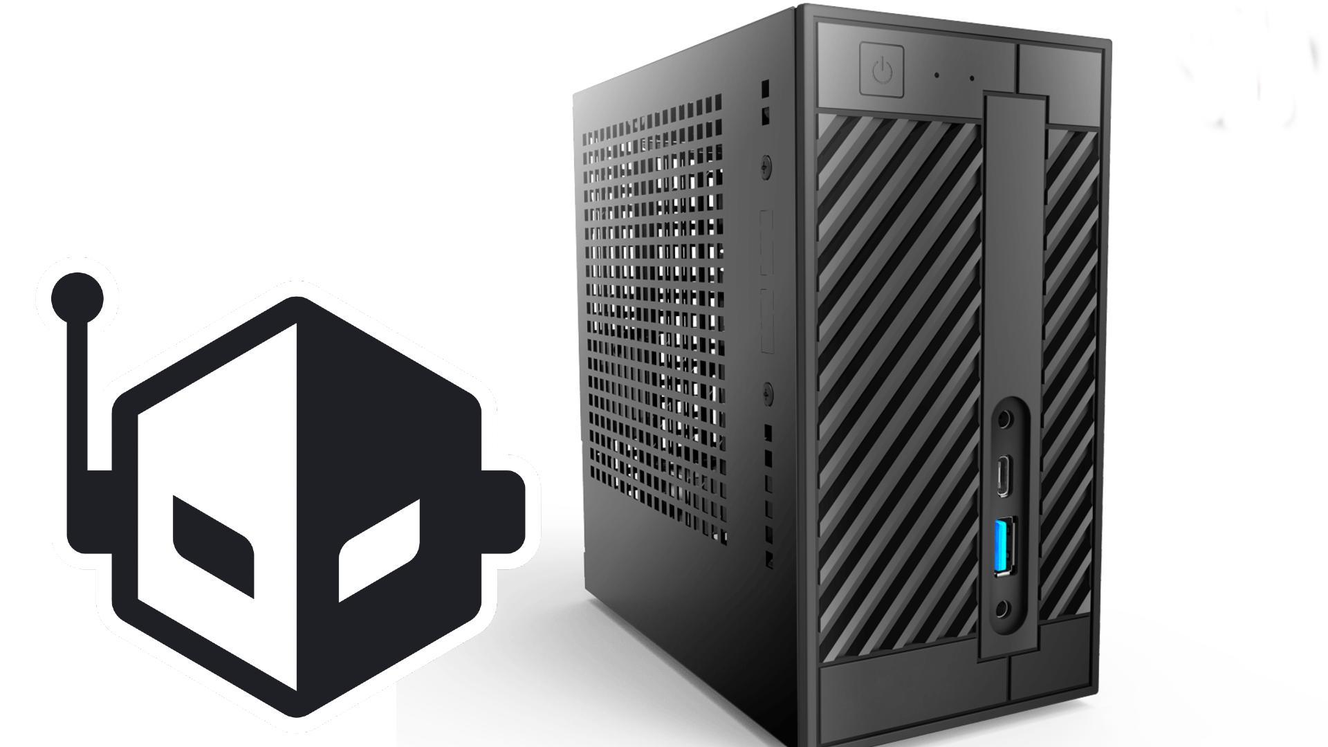 ASRock Announced The DeskMini Max Concept PC, Featuring a Compact 10L Size