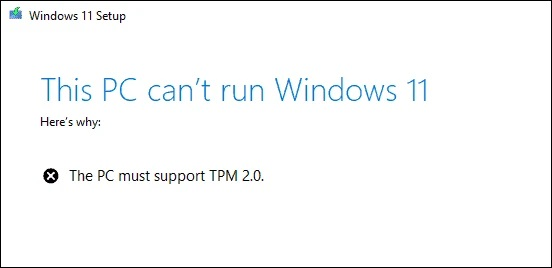Most Modern PCs Will Have No Issues Running Windows 11 - AMD & Intel CPUs With A Minimum of TPM 1.2 Required, TPM 2.0 Recommended