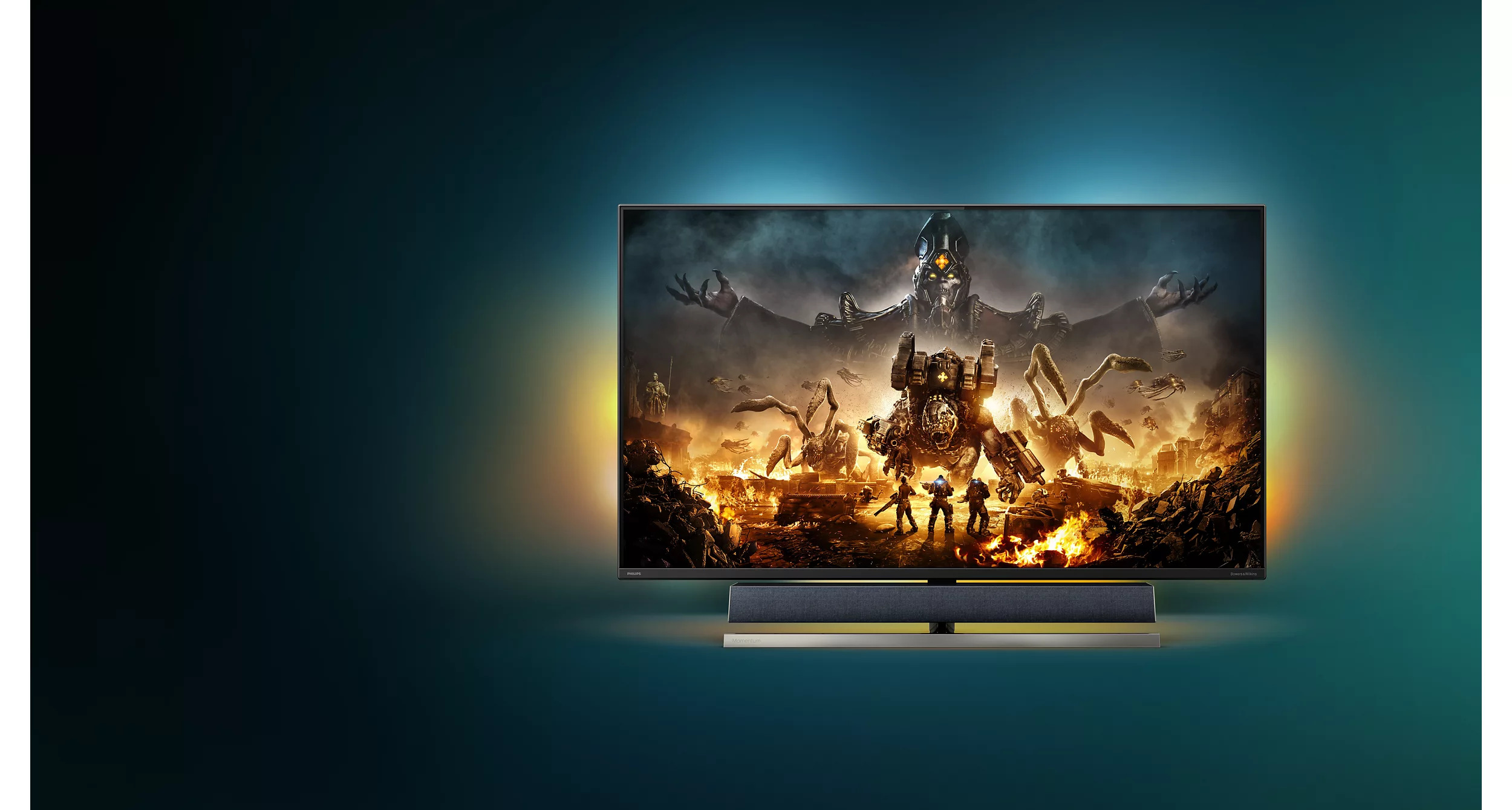 Phillips Launches The World's First 'Designed For Xbox' Gaming Monitor: The 55″ 4K Momentum 559M1RYV Gaming Monitor