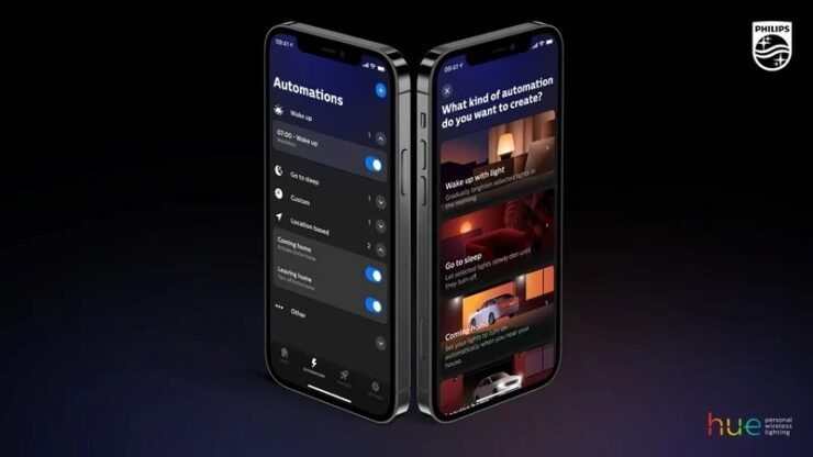 Philips Hue App Gets a Design Overhaul on Android and iOS