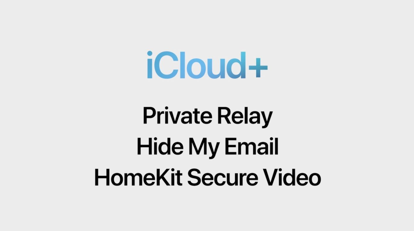 iCloud+ Subscription Service