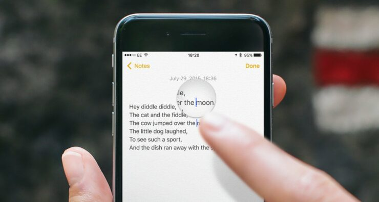 iOS 15 Brings Back the Magnifying Glass for You to Highlight Select Texts