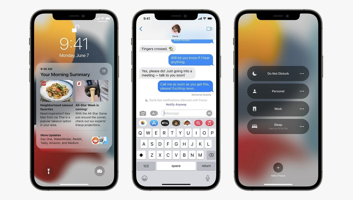 iOS 15 AirPrint and Widgets