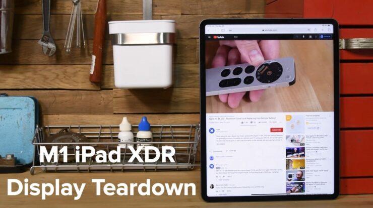 M1 iPad Pro Teardown