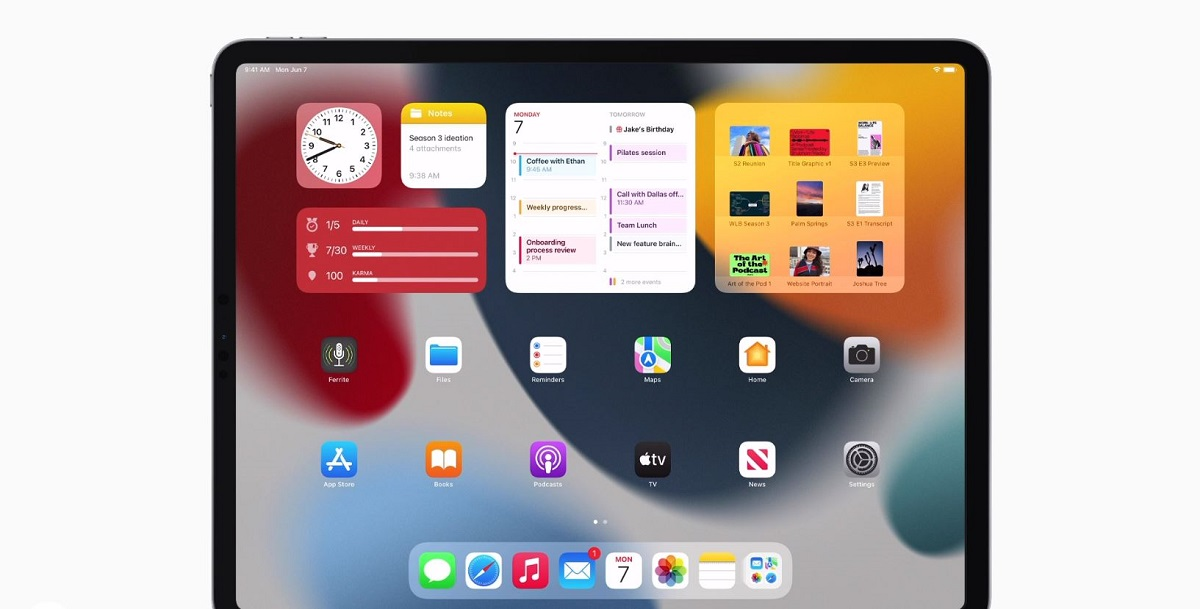 iPadoS 15 Adds Progress Bar in Files App