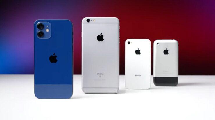 iPhone 12 Speed Test Against Original iPhone