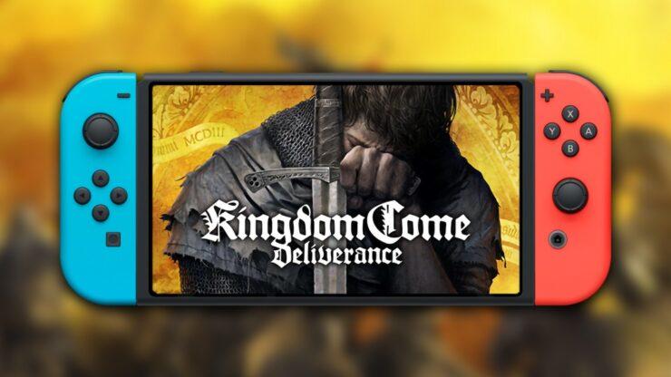 kingdom come deliverance nintendo switch saber
