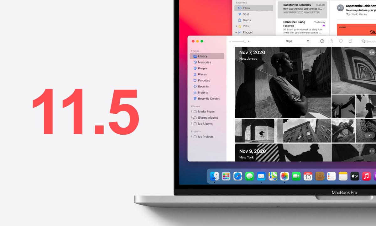 Download macOS 11.5 Big Sur update today