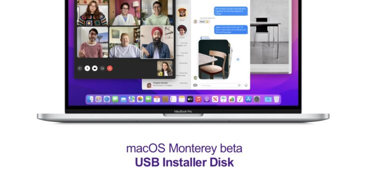 How to create macOS Monterey beta USB installer disk for clean installation