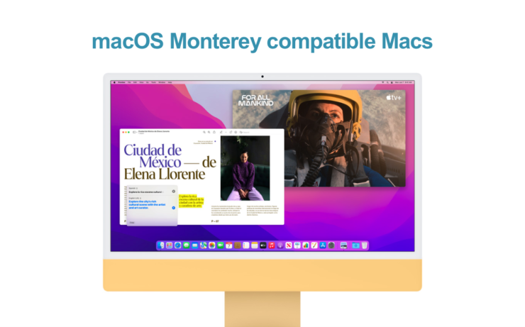 These are the Macs compatible with macOS Monterey