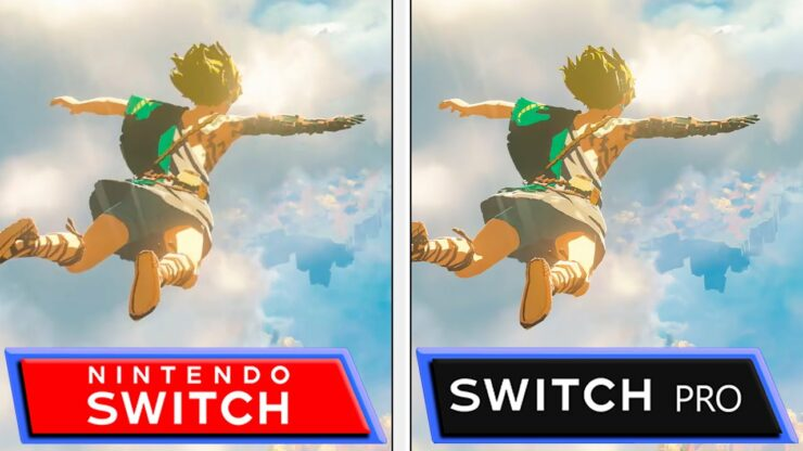 new nintendo switch pro 4k simulation