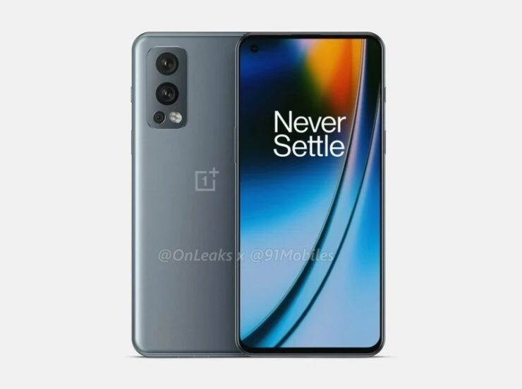 OnePlus Nord 2 Leak Shows Off Press Renders and a Familiar Design