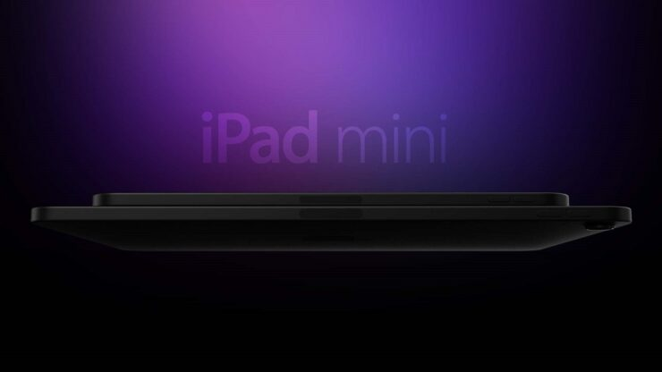 redesigned iPad mini 6 with slimmer bezels