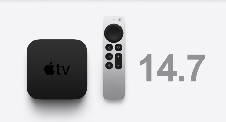 tvOS 14.7 is now available for download