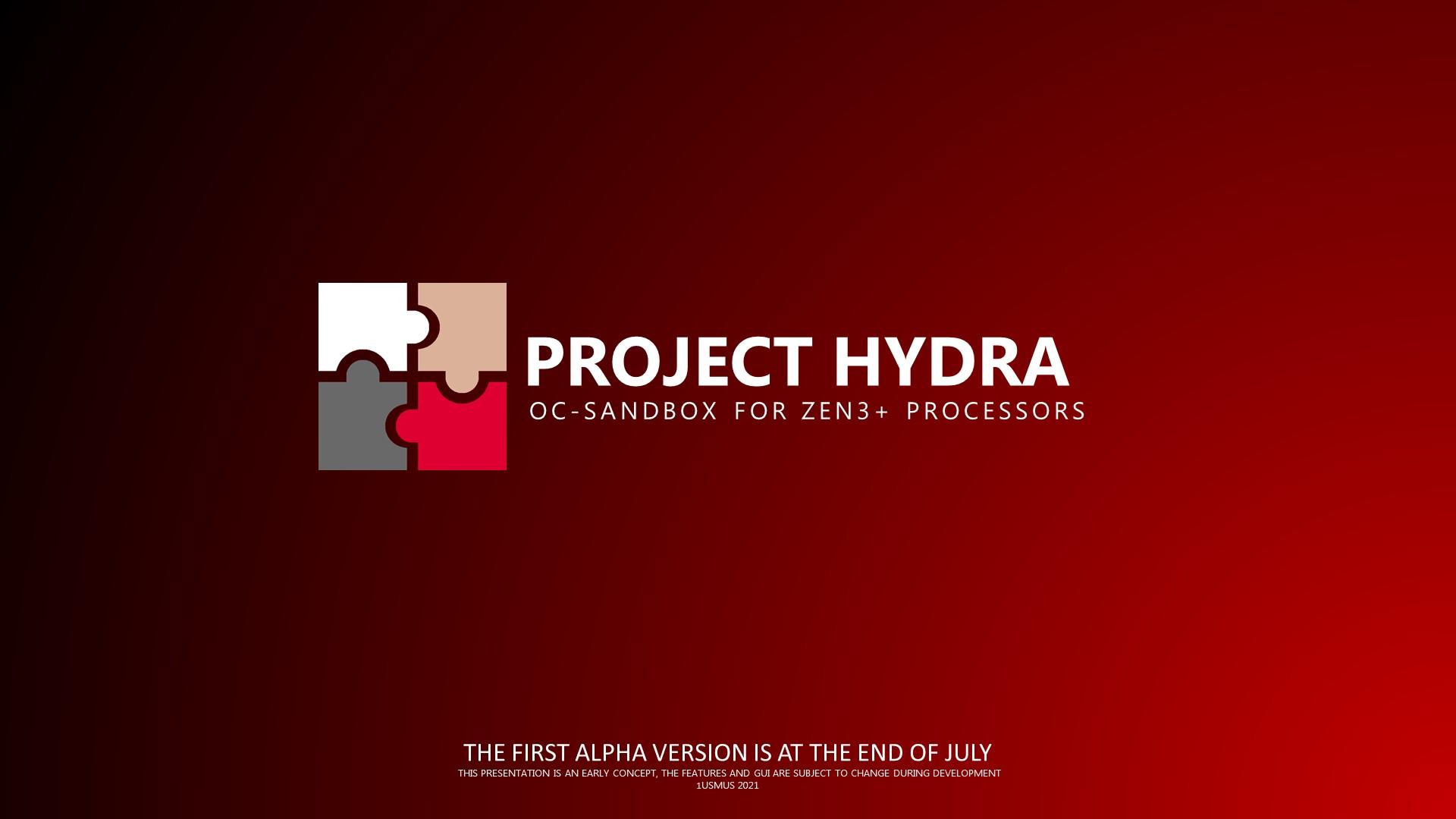 1usmus Unveils Project Hydra Overclocking & Tuning Utility For AMD Zen 3 & Zen 3+ Ryzen CPUs