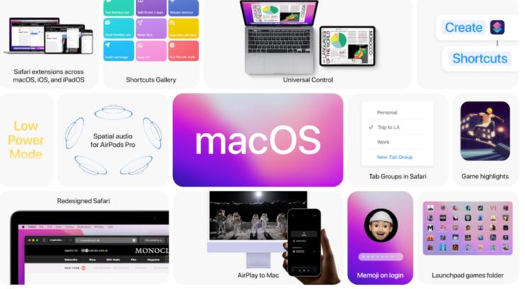 macOS 12 Monterey beta 2