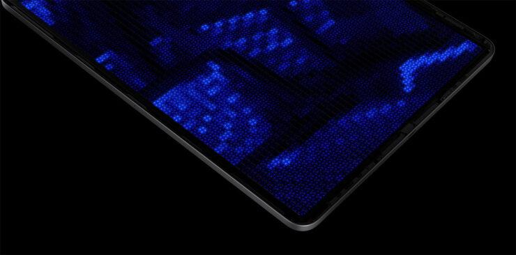 The M1 iPad Pro's mini-LED close-ups show insanely small diodes
