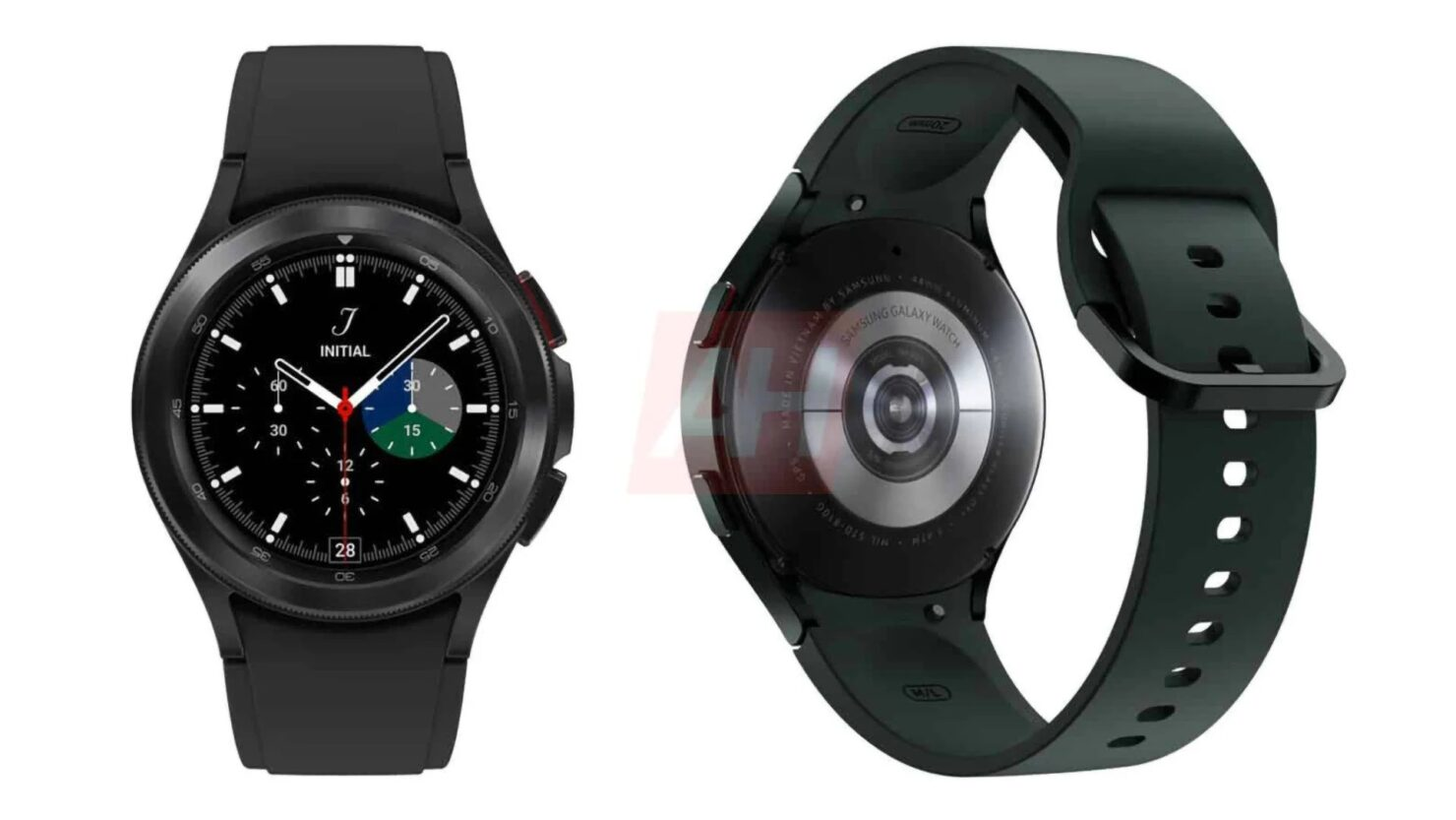 Galaxy Watch4 and Galaxy Watch4 Classic Poses for the Camera