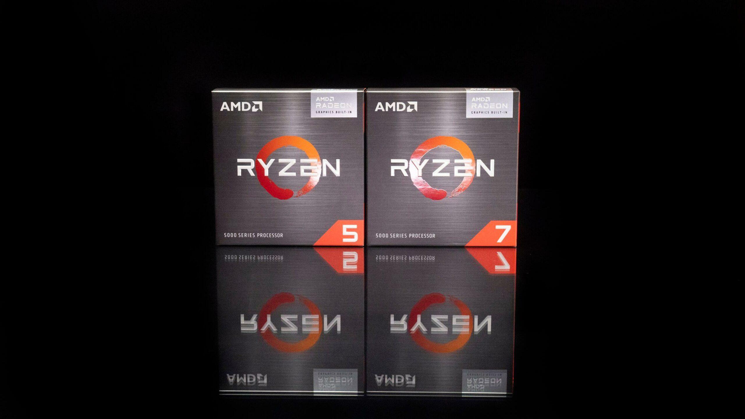 AMD Ryzen 7 5700G & Ryzen 5 5600G Desktop APUs Now Listed By Retailers