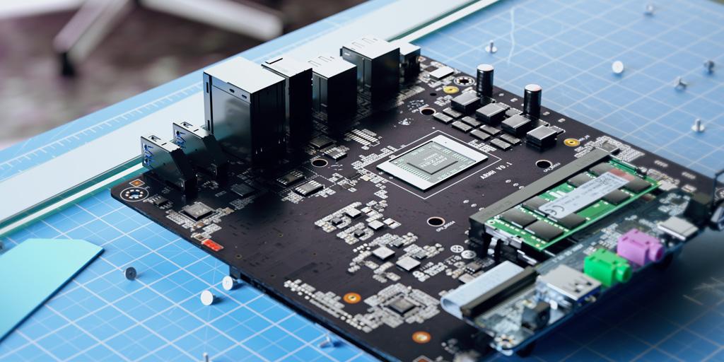 AMD Ryzen 9 5900HX CPU Powered Mini PC SFF