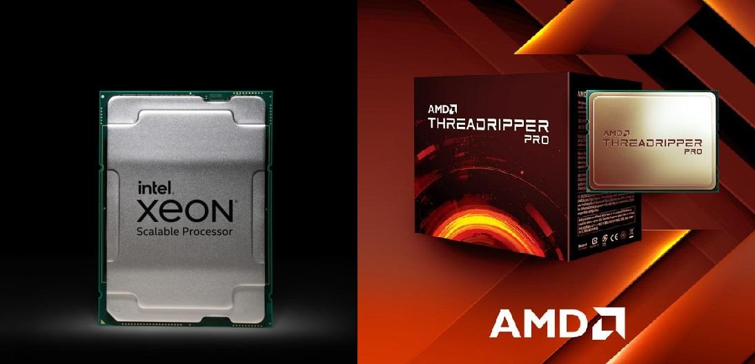 Intel's New Xeon W-3300 Workstation CPUs Get Decimated By AMD's Threadripper Pro, 32 Core Threadripper Beats 38 Core Xeon