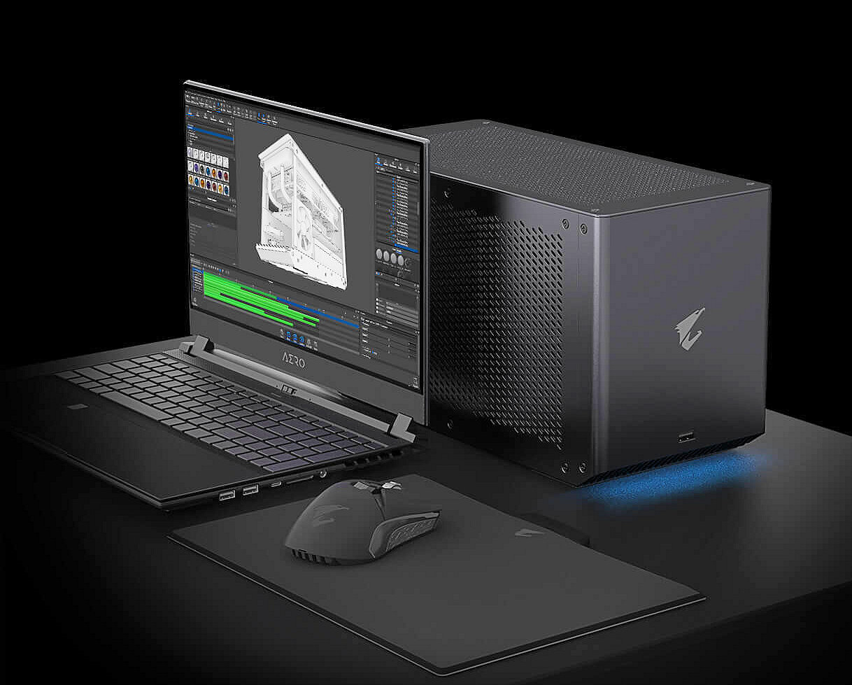 Gigabyte Unveils The AORUS RTX 3080 Ti GAMING BOX, A Portable NVIDIA GeForce RTX 3080 Ti For Laptop Users