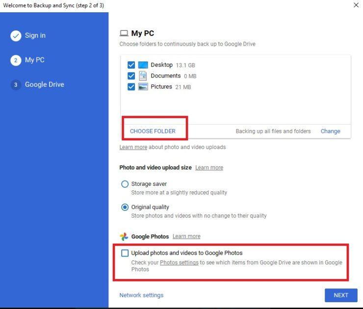 Add Google Drive in File Explorer