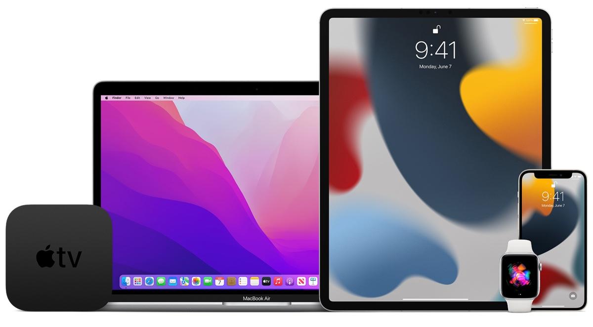 iOS 15 Public Beta,iPadOS 15,MacOS 12 Monterey,watchOS 8,tvOS 15