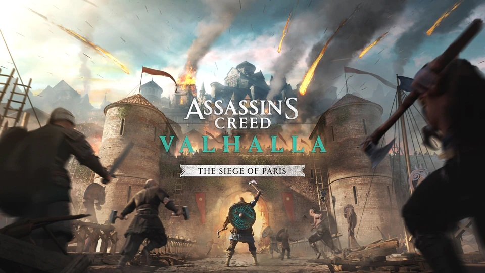 Assassin's Creed Valhalla the Siege of Paris PlayStation 5 File Size Revealed