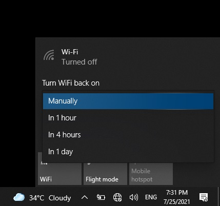 Connect to a Wi-Fi Network