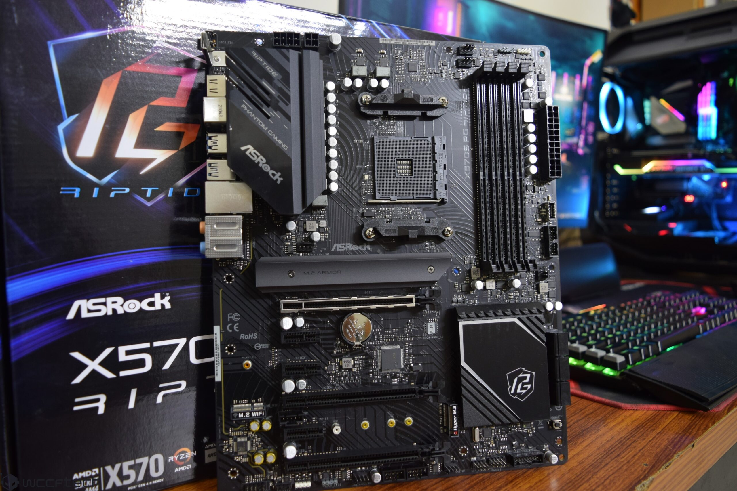 ASRock X570S PG Riptide Motherboard Review With AMD Ryzen 9 5950X