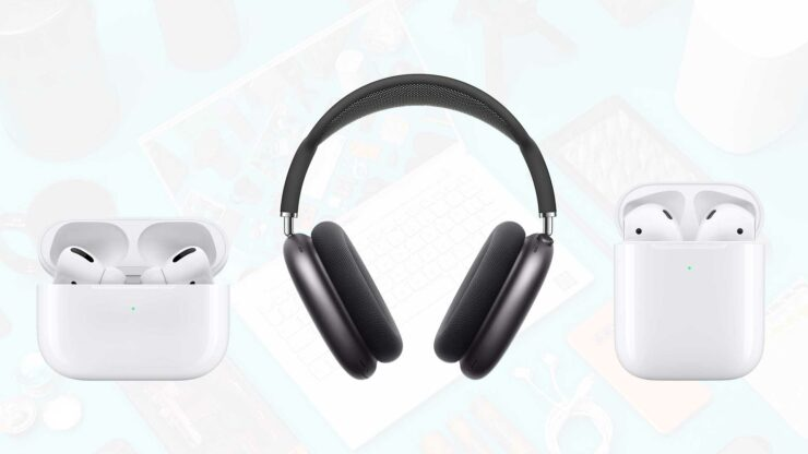Save on Multiple Apple Audio Products - AirPods Max, AirPods Pro, AirPods With Wireless Case Discounted up to $71