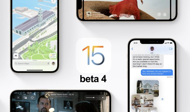 You can now download iOS 15 and iPadOS 15 beta 4