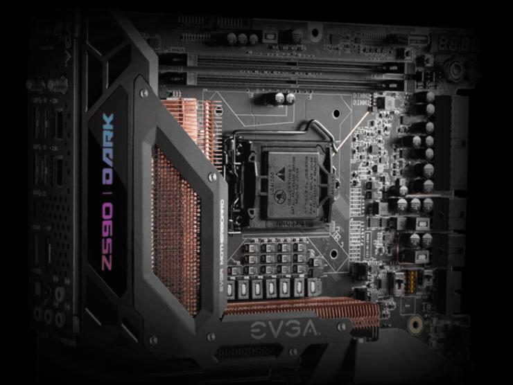 EVGA Z590 DARK Motherboard Unleashed - 21 Phase VRM, DDR4-5333+ OC Support, $599 US Pricing 2