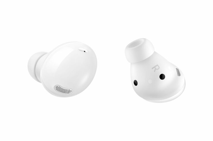 Galaxy Buds2 in White Wireless Charging Case Shown in New Videos
