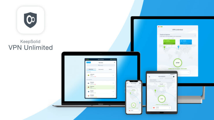 KeepSolid VPN Lifetime with 5 Devices + $30 Store Credit
