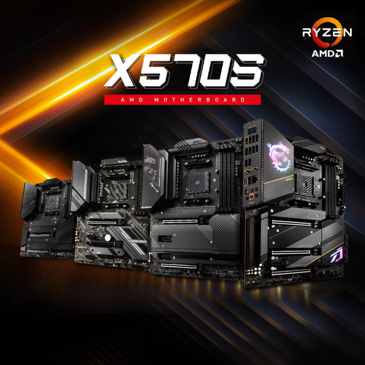 MSI Shows Off X570S ACE, CARBON & UNIFY Motherboards, Full Unveil On 17th August