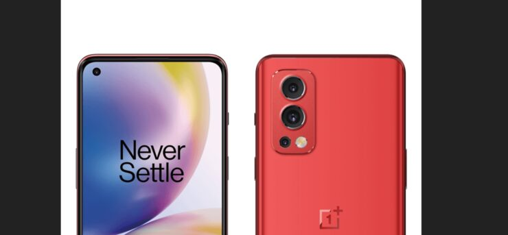 OnePlus Nord 2 Leaks in Crimson Red Colorway